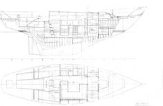 More accurate original drawing of a Havsornen II.
