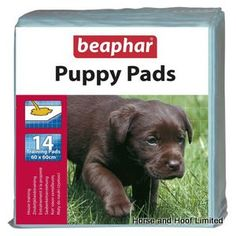 Beaphar Puppy Training Pads Specially developed to help house train your puppy…