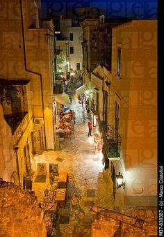 Old town, Otranto, Province of Lecce, Apulia, ITALY.
