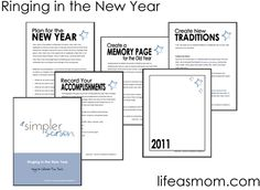 FREE Printable Ringing in the New Year Booklet