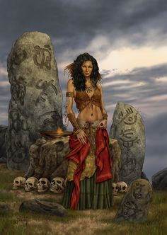 Have removed Wiccan fantasy art nude