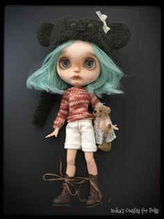 Dress for Blythe doll handmade by inikablythe on Etsy