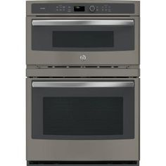 Buy the GE Slate Direct. Shop for the GE Slate 30 Inch Wide Cu. Single Electric Oven with Microwave and Convection and save. Wall Oven Microwave Combo, Built In Microwave, Microwave Oven, Microwave Drawer, Combination Microwave, Single Wall Oven, Electric Wall Oven, Oven Cleaning, Thing 1