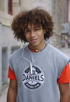 Corbin Bleu - his hair is FANTASTIC!! Would love to see one of my kids with hair like that!!
