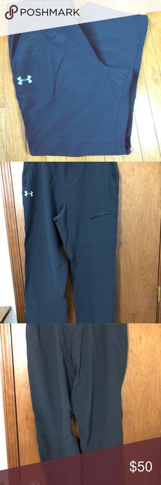 "Under Armour golf pant VGUC. Size XL. Inseam 29"". Hardly worn. Maybe 3x.  ONLY LOOKING TO SELL. No trades. Please use offer button if interested. Open to reasonable offers.  Lmk if I can answer any questions for you. Thank you for visiting my closet. Comeback again!  Under Armour Pants"