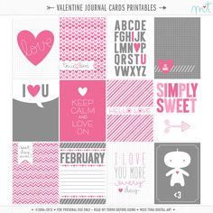 Hiya everyone, I'd like to share some Valentine's love with you today! All are FREE for personal use! Enjoy!! Stay tuned, more to come! :o) ♥mt