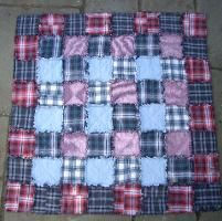 Quilting : Favourite Shirts Rag Quilt