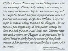 Snape. Sometimes i wish lily had married snape. But then i knew harry potter wouldnt be born.