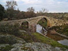 Puente de las Brujas o del Diablo. La Mata de Ledesma, Salamanca.