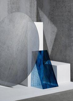 dark blue and grey
