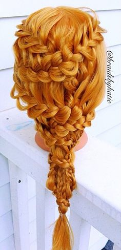 Lace braided