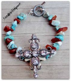 SPIRITUAL COWGIRL BRACELET Antique Silver Rhinestone Cross Western Bracelet COWGIRLS UNTAMED ~ Fashion For Your Cowgirl Gypsy Rebel Soul www.cowgirlsuntamed.com