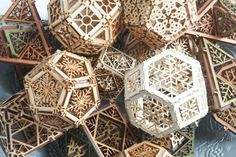 Jessamity: Art and Design: Laser Cut Orbs