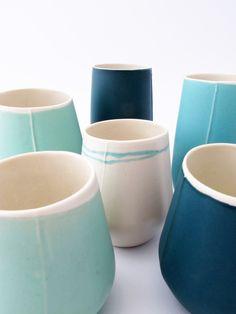 Brittany Delany Ceramics- Seasalt Vessels www.brittanydelany.co.uk