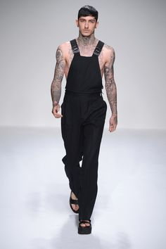 Totally LOVE the idea that Overalls can be Sexy and Sleek, these are both