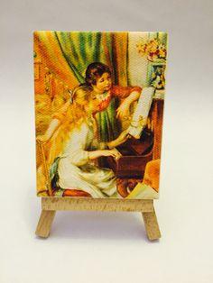 Ragazze al pianoforte Renoir