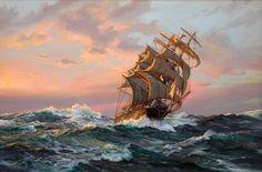 Charles Vickery: Original Paintings: Item# 15492-VAD-006