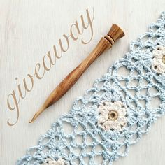 Head on over to @bqueencollection to enter :) #yyc#crochet#giveaway#crochetersofinstagram#bqueencollection#crochetaddict#crochetallthethings  @Regrann from @bqueencollection -  GIVEAWAY  Goodbye February Giveaway! Enter to win this BQueen Collection crochet hook! Size 5mm Made from Olivewood thumb-rest hybrid hook head one of our older styles of hook. One random winner will be chosen! To enter this giveaway:  1 Like this photo Follow us @bqueencollection  3 Tag one friend in the comments…