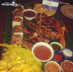 Fritanga típica Nicaragüense