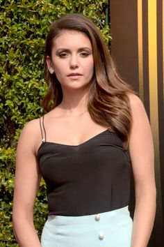 Nina Dobrev Photos - 2015 Creative Arts Emmy Awards - Arrivals - Zimbio