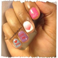 valentines surprise by nailedbydeshea from Nail Art Gallery