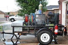 welding trailer by R. Davis
