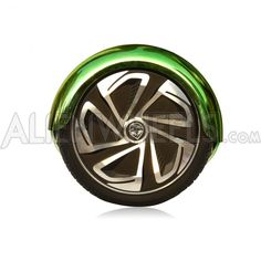 Shiny Green Chrome 2 Wheel Electric Scooters AlienBoard™ M9