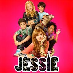 Jessie,Luke,Zurie,Emma,Ravi, and Mr.Kipling! The Jessie cast! <3 this T.V show! Debby Ryan, Cameron Boyce, Skai Jackson, Payton List and I forget Ravis real name