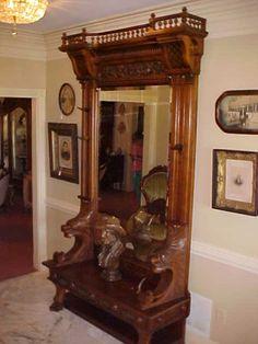 antique foyer furniture. hall tree victorian furniturevictorian interiorsvictorian decorantique furniturefurniture ideasfoyer antique foyer furniture r