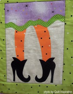 """Which Witch"" by Crazy OLd Ladies Quilts - Yahoo Image Search Results Witch Quilt, Sewing Ideas, Sewing Projects, Which Witch, Mexican Holiday, Halloween Quilts, Fall Quilts, Tablerunners, Mug Rugs"