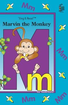 Marvin The Monkey Big Book - Alphabet Books - Books  | Frog Street Press