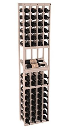 Wine Racks America Ponderosa Pine 4 Column Side Display Kit 13 Stains to Choose From * Find out more about the great product at the image link. (This is an affiliate link)