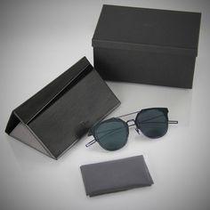 CHRISTIAN DIOR HOMME Composit 1.0 blue mirrored ruthenium A2J/2A Sunglasses NEW #ChristianDior #Round