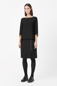 COS | Clean-edge jumper