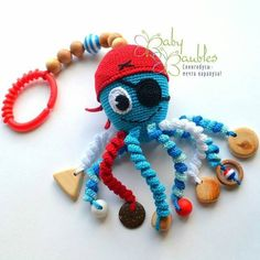 Amigurumi Teething Ring Models 86 - # Teething Ring - for children - Crochet Baby Toys, Crochet Gifts, Crochet Animals, Crochet For Kids, Diy Crochet, Crochet Dolls, Baby Knitting, Amigurumi Patterns, Amigurumi Doll