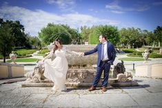 Lovely bridal shoot with Natalie and Dominik at Vizcaya Museum and Gardens  For all types of photoshoots visit us at:  www.WeddingPhotographyByLiam.com  #bridal #couple #cute
