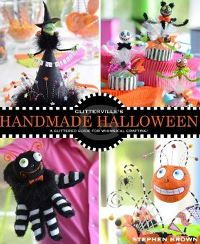 Enter to win a copy of Glitterville's Handmade Halloween from Andrews McMeel Publishing with AllFreeHolidayCrafts.