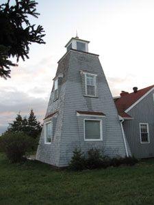 Hardy's Channel Lighthouse,  Prince Edward Island, Canada