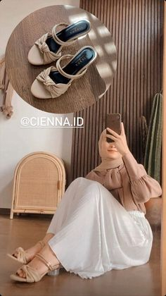 Stylish Hijab, Casual Hijab Outfit, Ootd Hijab, Hijab Fashion, Fashion Outfits, Womens Fashion, Everyday Casual Outfits, Kebaya Dress, Best Online Stores