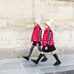 Parisian luxury online childrenswear boutique Melijoe has launched an exclusive, limited edition Moncler x Melijoe collaboration. Duvet, Kids Fever, Zara, Kids Pants, Winter Kids, Down Coat, Sweater Weather, Cool Kids, Kids Fashion