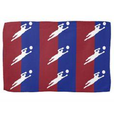 Soccer Kitchen Towel #Soccer #Sports #Towel #Kitchen
