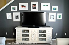 The Shabby Nest: How We Created Our Mirrored Console~