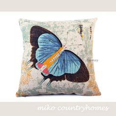 Poduszka inspirowana naturą - motyl, motyle, poduszka - TRENDmag.pl - najnowsze trendy