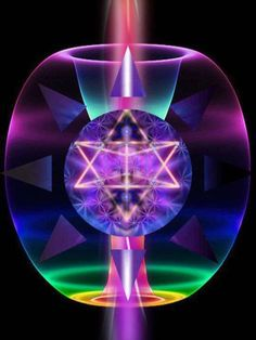 What is a Merkabah? A merkaba is a type of spiritual vehicle that totally surrounds you. It is part of your Light Body. Try our meditation to locate your vehicle and take it for a ride. Spirit Science, Spiritus, Mystique, Art Graphique, Visionary Art, Flower Of Life, Tantra, Fractal Art, Love And Light
