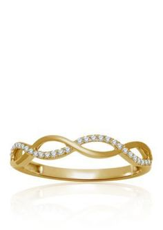 Belk  Co. Yellow Gold Diamond Ring in 10k Yellow Gold