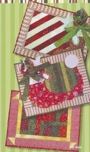 Red Rooster Quilts: Shop | Category: Christmas / Winter Patterns | Product: Merry Mats Placemat Patterns