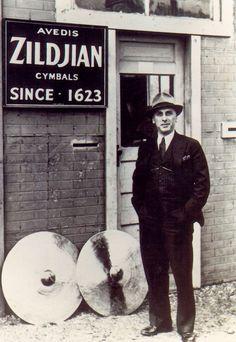 Avedis Zildjian - making the best cymbals since Drums Girl, Drum Instrument, Zildjian Cymbals, Vintage Drums, Vintage Music, Gretsch Drums, Jazz Blues, Drum Kits, Film Music Books
