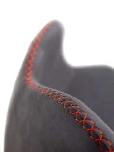 #Chair #Color Accent #Feiz #Felt #Furniture #Geometry #Grey #Orange #Organic #Pattern #Red #Rounded #Stitching #Textile / Fabric