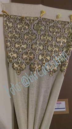This post was discovered by BirCan Şahin. Discover (and save!) your own Posts on Unirazi. Embroidery Neck Designs, Embroidery Dress, Cross Stitch Embroidery, Hand Embroidery, Cross Stitch Patterns, Machine Embroidery, Lotus Design, Thread Art, Sewing Stitches