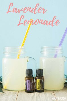 Happy first day of Summer! Try some Lavender Lemonade as a celebration. Ingredients: • 1 cups freshly squeezed lemon juice, pits removed, pulp added • 1 cup raw honey • 6 cups of water • 2 drop Lavender essential oil • 2 drops Lemon essential oil Directions: 1. In a small saucepan, bring to a boil 2 1/2 cups of water. 2. Remove from burner and add raw honey. Stir until disolved. 3. Add two drops of Lavender essential oil 4. Cut lemons, remove the seeds and squeeze lemons into a glass pitcher